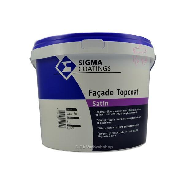 Sigma Façade Topcoat Satin gevelverf